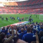 Everton at Wembley FA Cup semi final