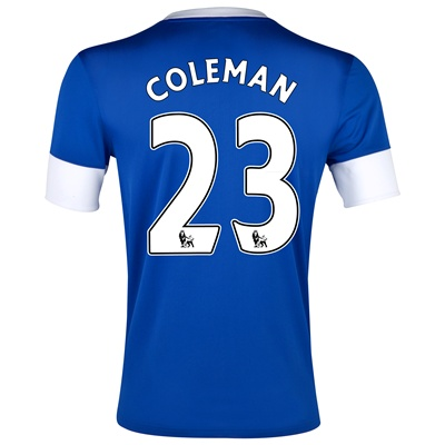 Seamus Coleman Everton home shirt