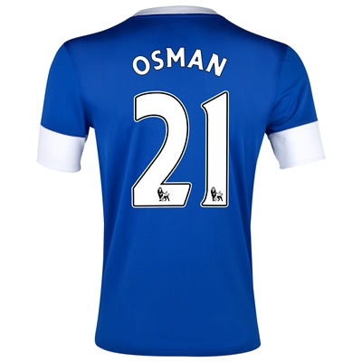 Leon Osman Everton home