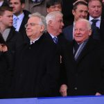 Bill Kenwright and Dave WHelan