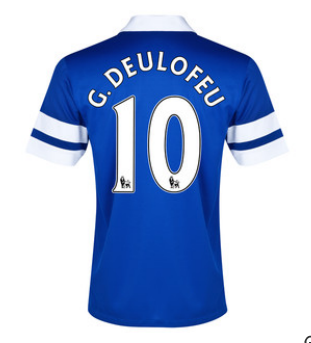 Deulofeu home shirt 2013-14