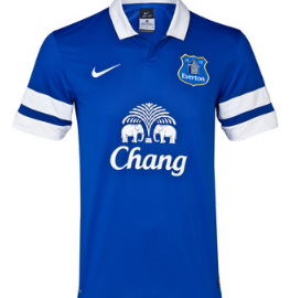 Everton home shirt 2013-14