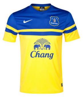 Everton away shirt 2013-14