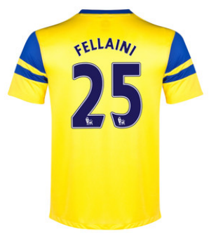 Marouane Fellaini away 2013-14