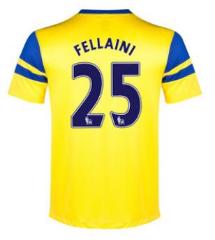 Marouane Fellaini away 2013-14