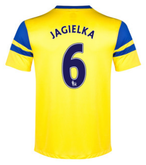 Phil Jagielka away 2013-14