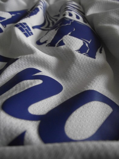 Everton blue and white