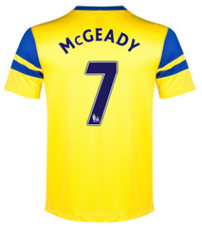 Aiden McGeady Everton away