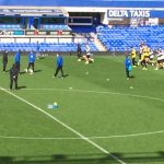 goodison training session 2014