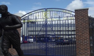 Everton gates Goodison Park