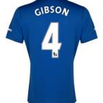 Darron Gibson Everton