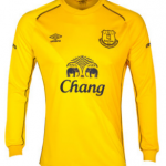 Everton goalkeeper 2014-15