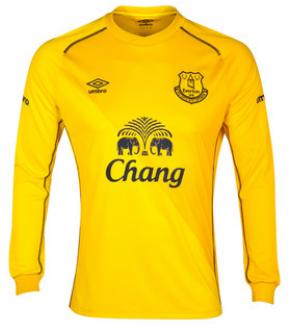 Everton goalkeeper 2014-15