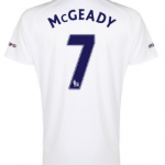 Aiden McGeady Everton third shirt