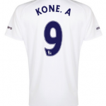 Arouna Kone Everton third shirt