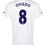 Bryan Oviedo Everton third shirt