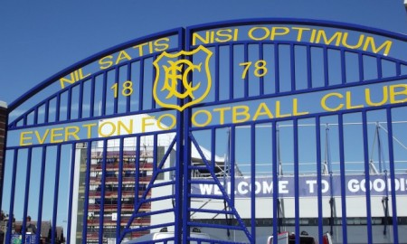The Everton gates
