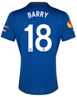 Everton Europa League 2015 Gareth Barry