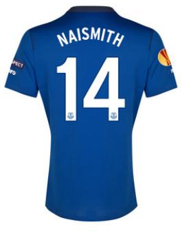 Everton Europa League 2015 Steven Naismith