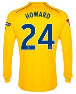 Everton Europa League 2015 Tim Howard