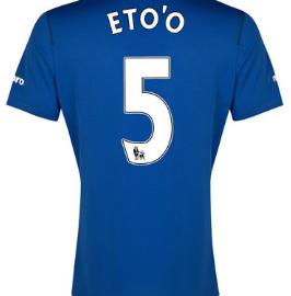 Samuel Eto'o Everton home shirt