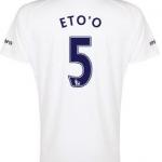 Samuel Eto'o Everton third