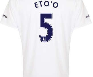 Samuel Eto'o Everton third
