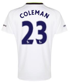 Seamus Coleman Everton third shirt
