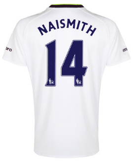 Steven Naismith Everton third shirt