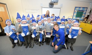 John Stones at All Saints Catholic Primary School
