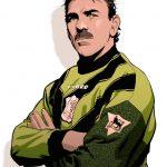 Neville Southall comic