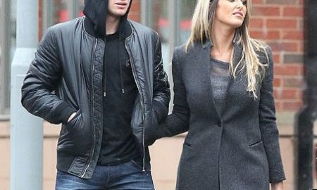 cleverley and his wife