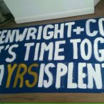 Kenwright time to go