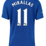 Kevin Mirallas Everton 2015-16