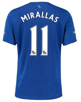 Kevin Mirallas Everton 2015-16