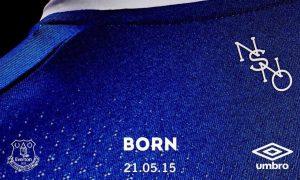 new Everton kit 2015-16