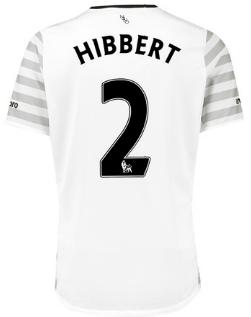 Tony Hibbert Everton away shirt 2015-16