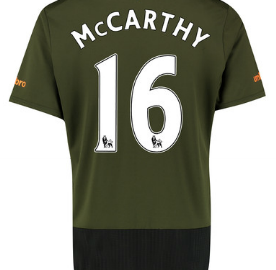 McCarthy Everton third