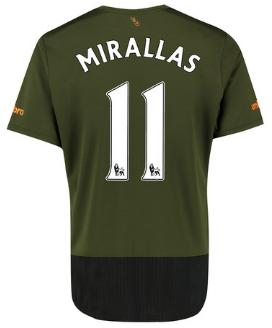 Mirallas Everton third