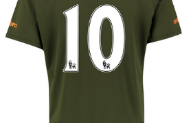 Romelu Lukaku Everton third