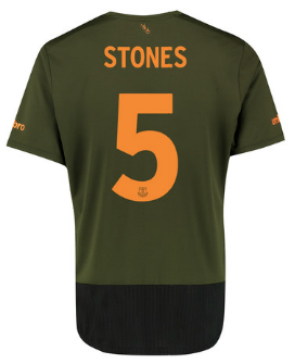 Stones 1  Everton third