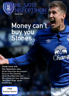 Everton Fanzine from NSNO