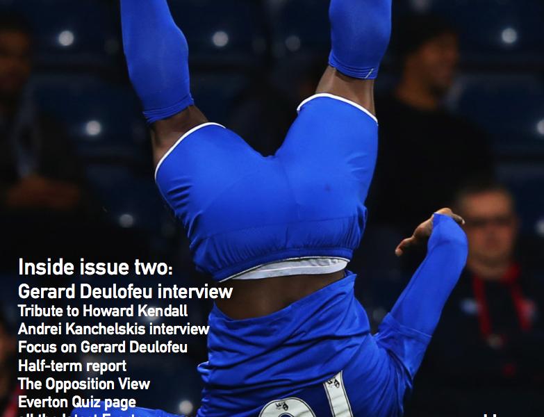 NSNO Everton Fanzine Issue Two