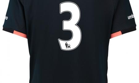Baines Everton away 2016-17