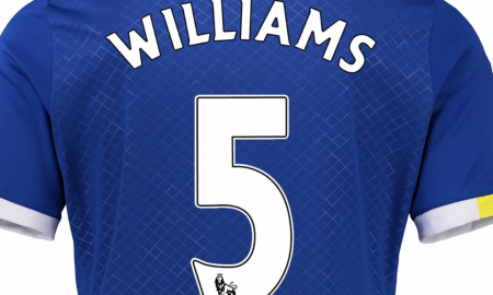 Ashley Williams Everton kit