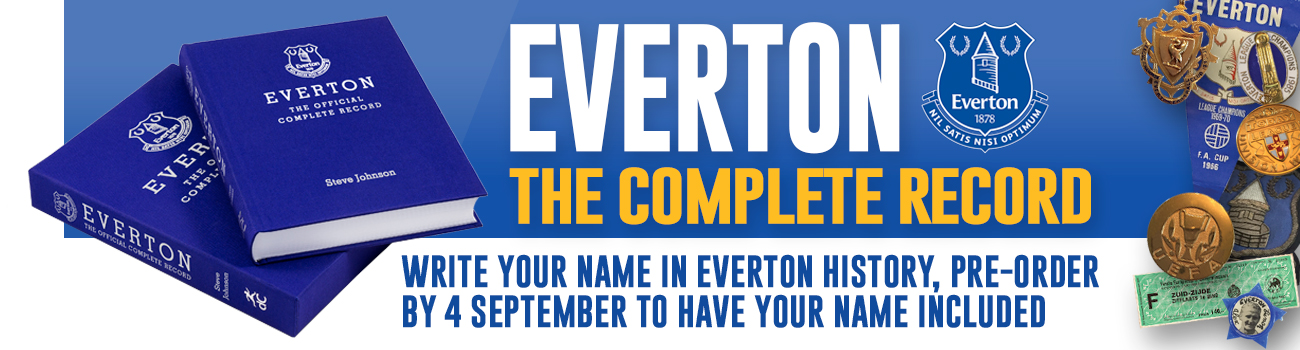 Everton Complete Record
