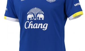 Everton home shirt 2016
