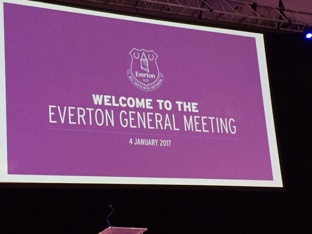 Everton General Meeting