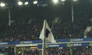 Everton corner flag