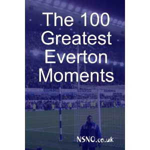 100 Greatest Everton Moments book